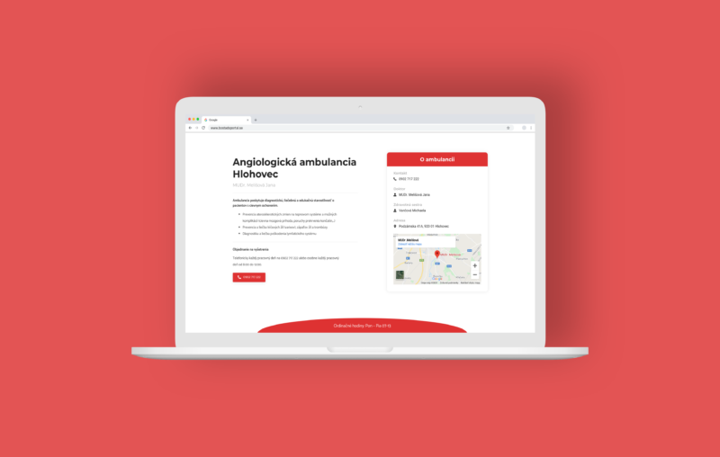 AngioHC Website by Patrik Melis